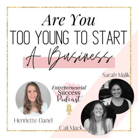 Are you too young to start a business