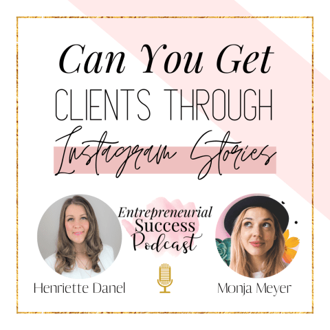 Can you get clients through instagram stories