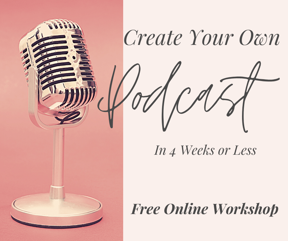 Star your own podcast in 4 weeks or less