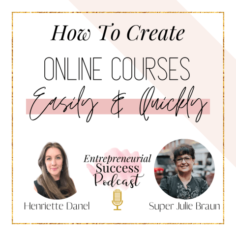 how to create online courses easily and quickly
