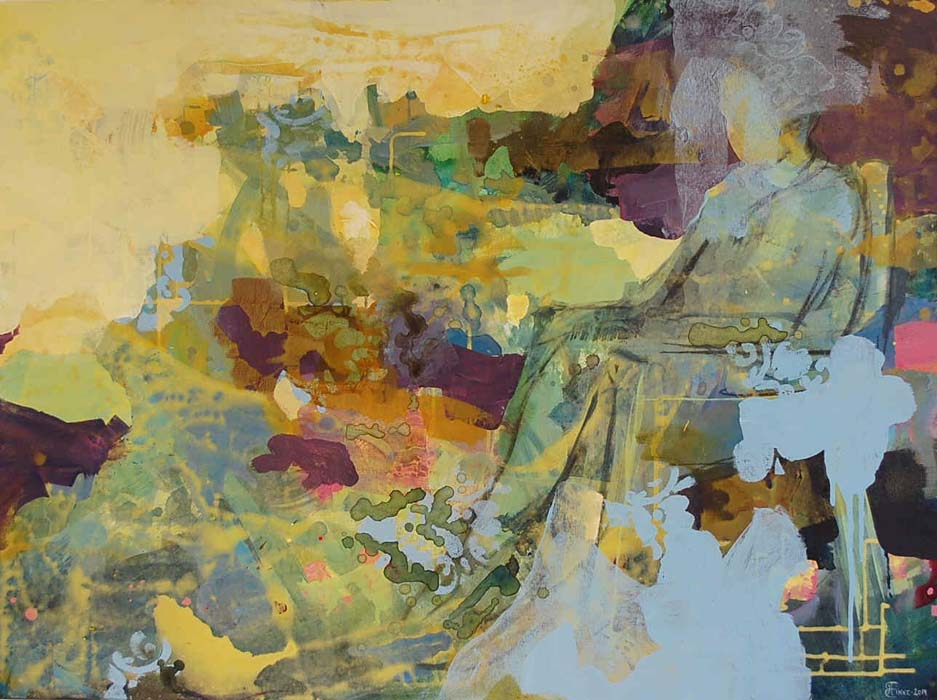 In the morning 90x120 cm
