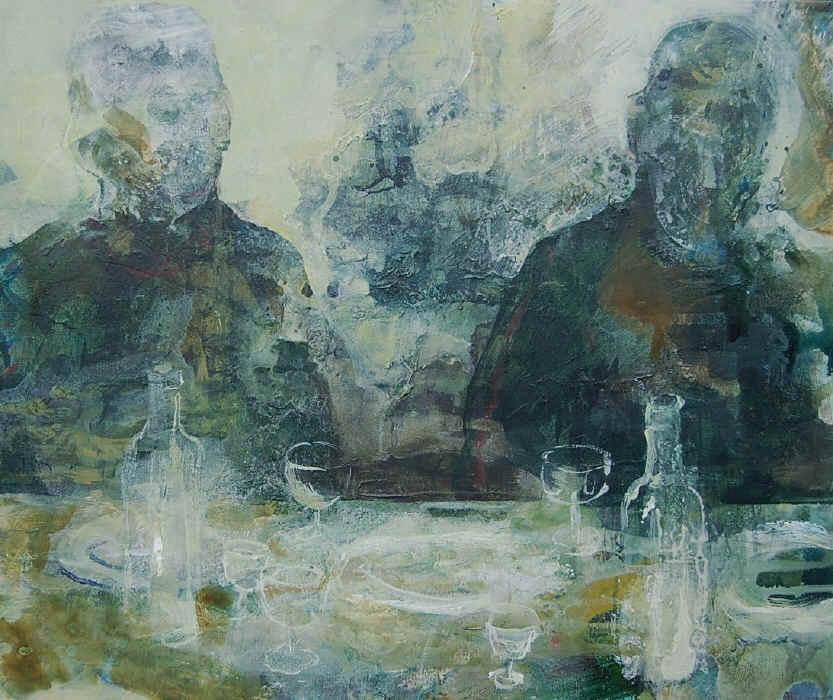Til bords I. 50x60 cm