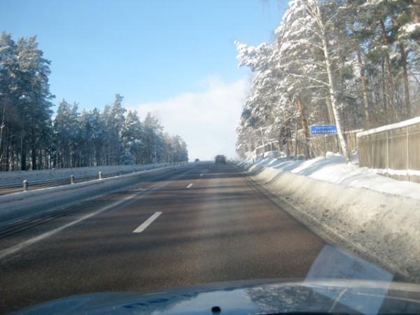 Det blev många mil längs våra svenska vägar...
