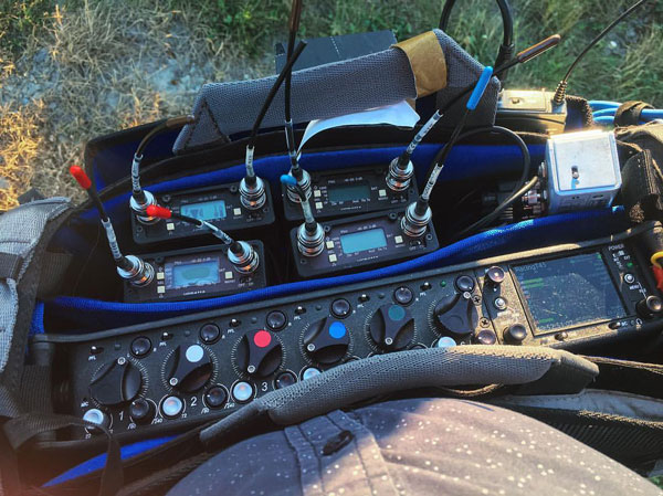 Sound Devices 664 with Lectronsoncs 411A Receivers