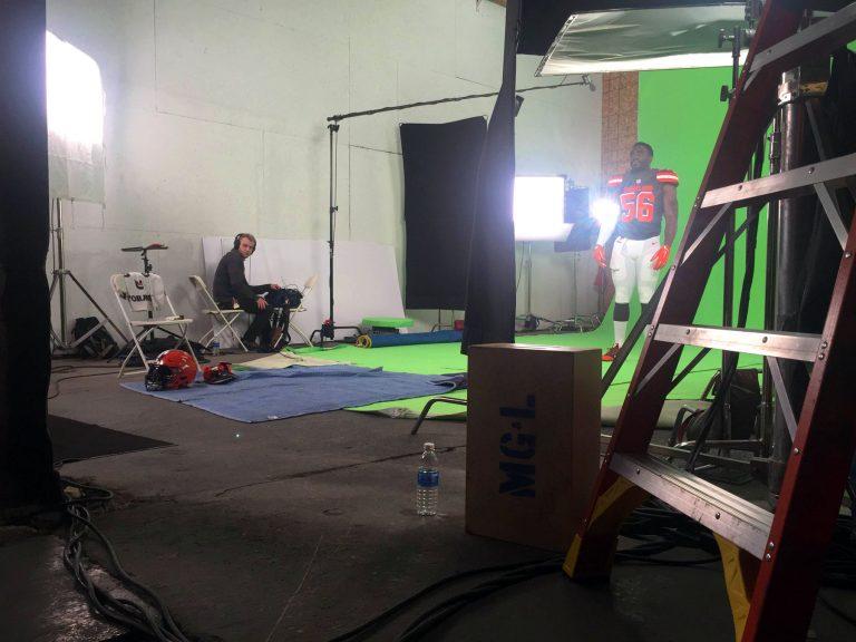 Cleveland Browns Green Screen Video