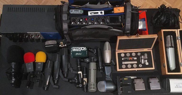 Extensive Production Sound Gear Rental