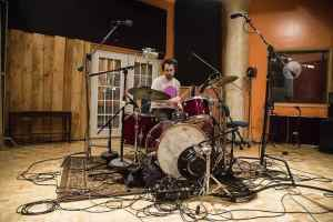 M Moody Recording Indie Rock Drums