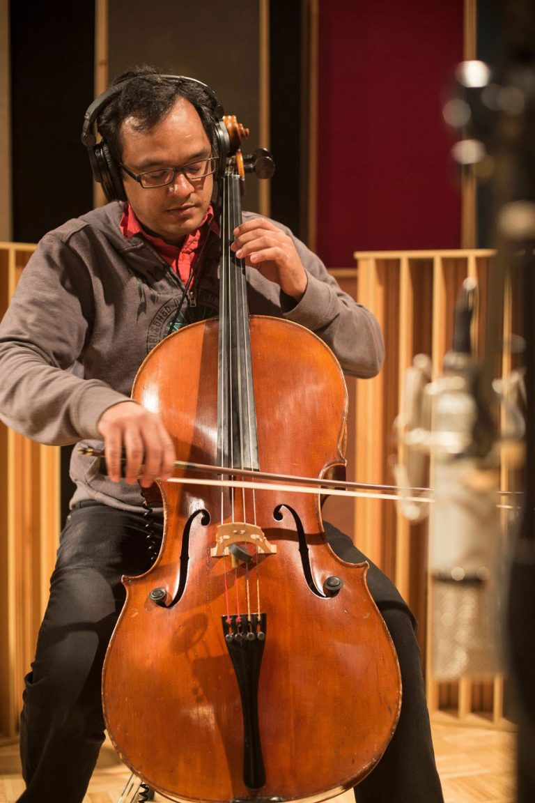 Recording Cello for Cleveland Play House Scoring Post Production