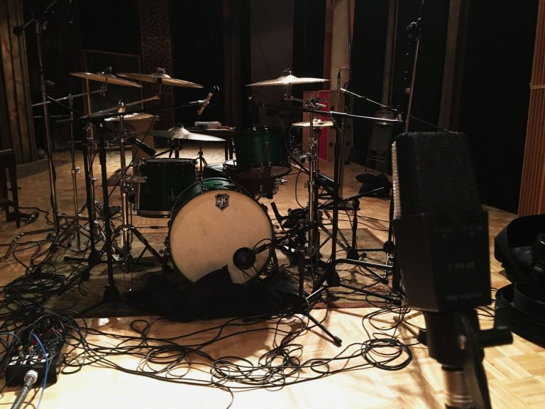 Recording Metal Drums with Custom SJC Drum Kit