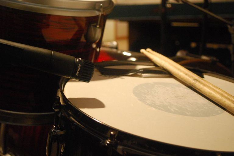 Recording Snare Top Mic