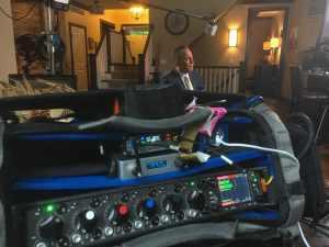 Detroit Location Sound Mixer on Video Shoot for NBC Dateline