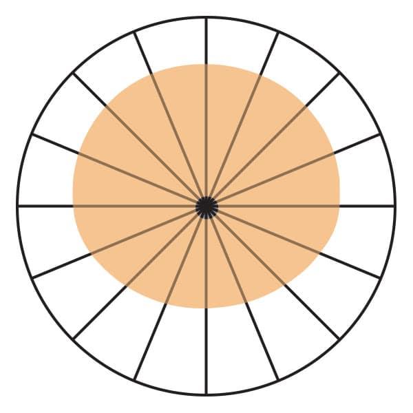 Wide Cardioid Polar Pickup Pattern