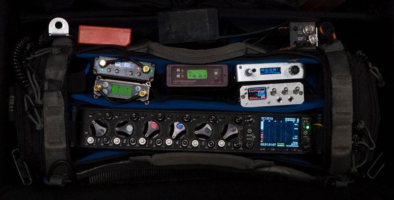 Prepped Film Sound Equipment