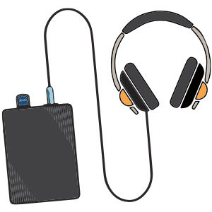 Wireless IFB Headsets