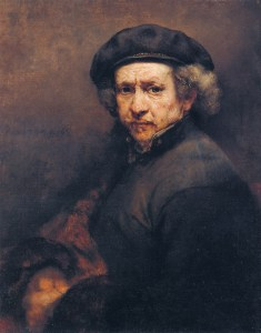 Rembrandt self-portrait.