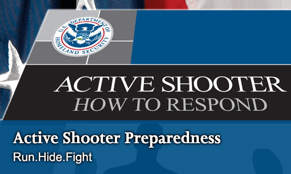 Active Shooter Preparedness Training Resources Official Site Of Henry County TN