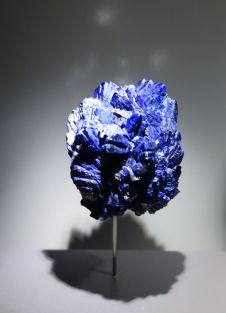 Azurite. Guangdong, Chine. Photographie personnelle.
