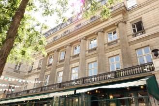 Hôtel de Montholon, toujours visible au 23 boulevard Poissonnière, Paris. Photographie personnelle.