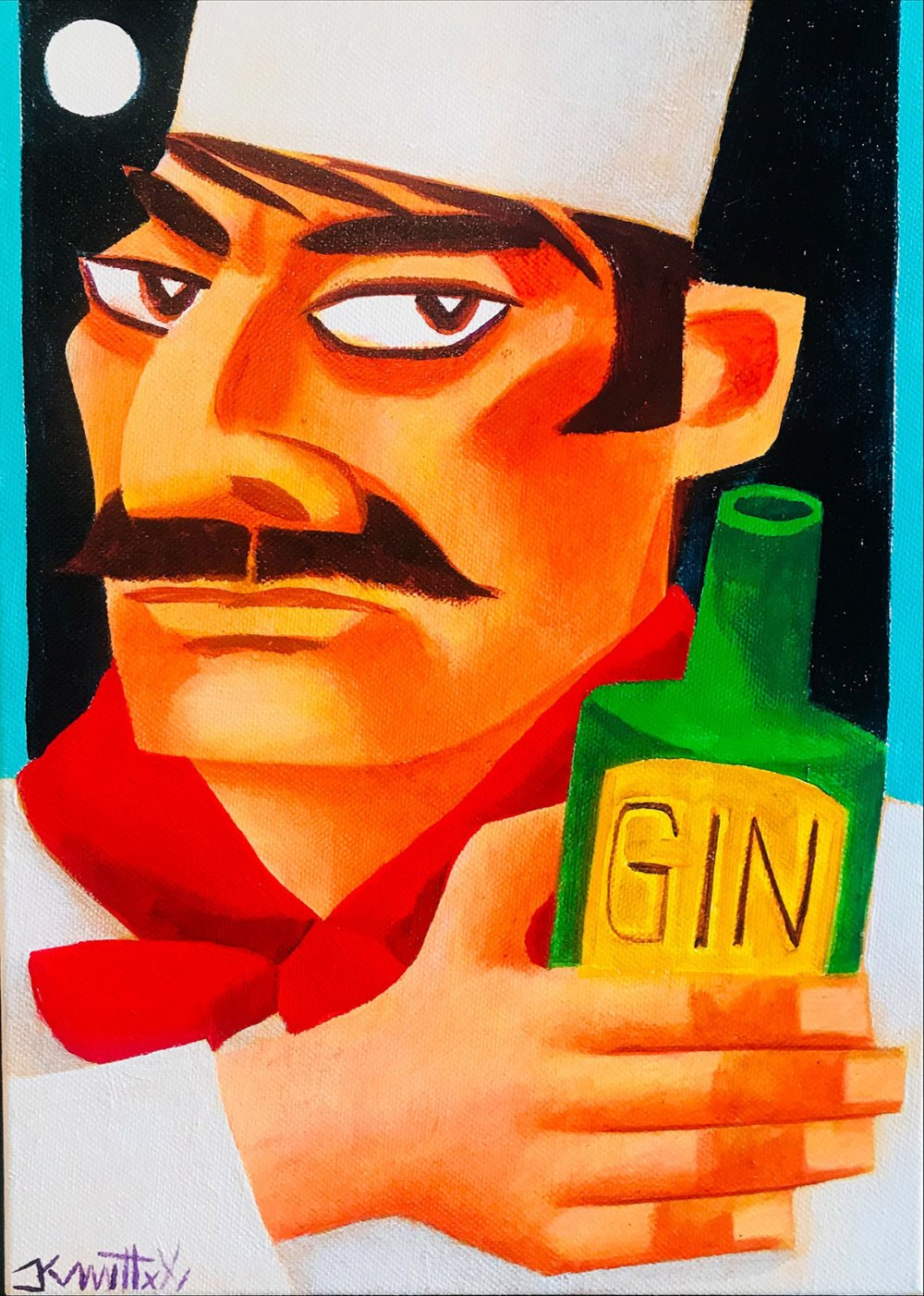 Let The Drinking Be Gin