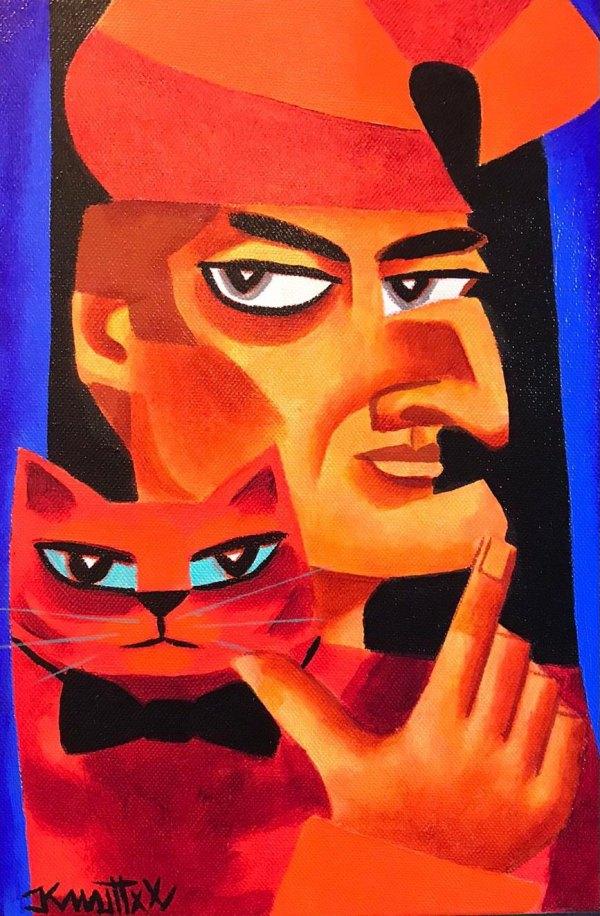 Mr Punch & Puss