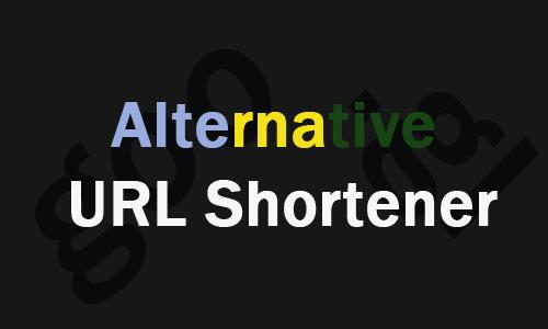 URL Shortener Google  Alternative URL shortener for goo.gl