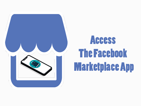 Access Facebook Marketplace App on the Facebook iOS App