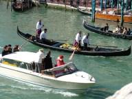Taxi and gondolas, Venice © Henry Hyde