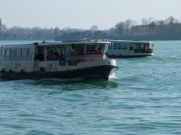 Vaporetti on the Venetian Lagoon © Henry Hyde