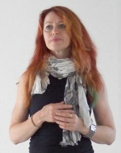 Roz teaching in Venice