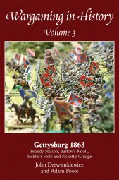 Wargaming in History Volume 3 by John Drewienkiewicz and Adam Poole cover