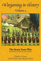 Wargaming in History Volume 4 by Charles S Grant cover