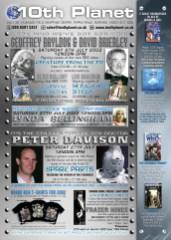 Ad for 10th Planet sci-fi memorabilia shop