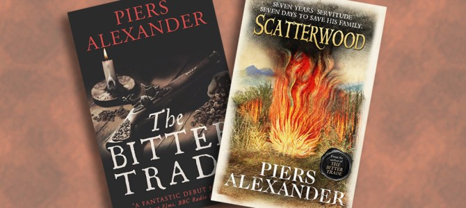 Author Insights: Six of the best with Piers Alexander