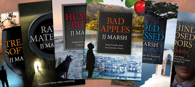 Author Insights: Six of the Best with JJ Marsh