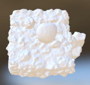 Rendered 3D OBJ