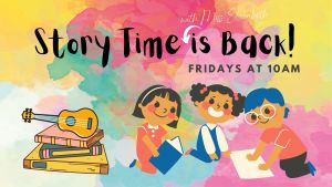 Story Time with Miss Elizabeth @ Henry County Public Library
