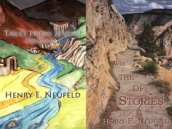 Cover images for Tales from Jevlir and Stories of the Way