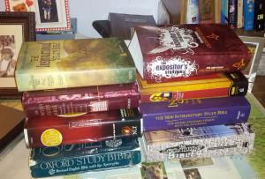Study Bibles Galore!