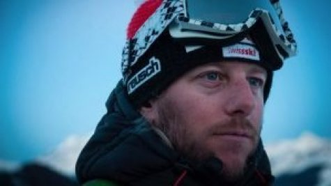 George Stoy, off-piste, ski instructor, hat trainer