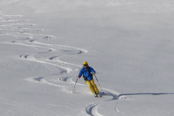 Early season Off-Piste Val d'Isere