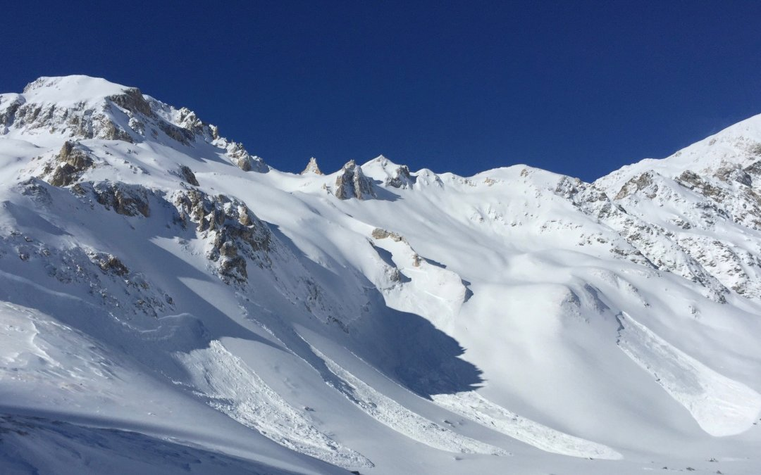 Recent avalanche activity after storm