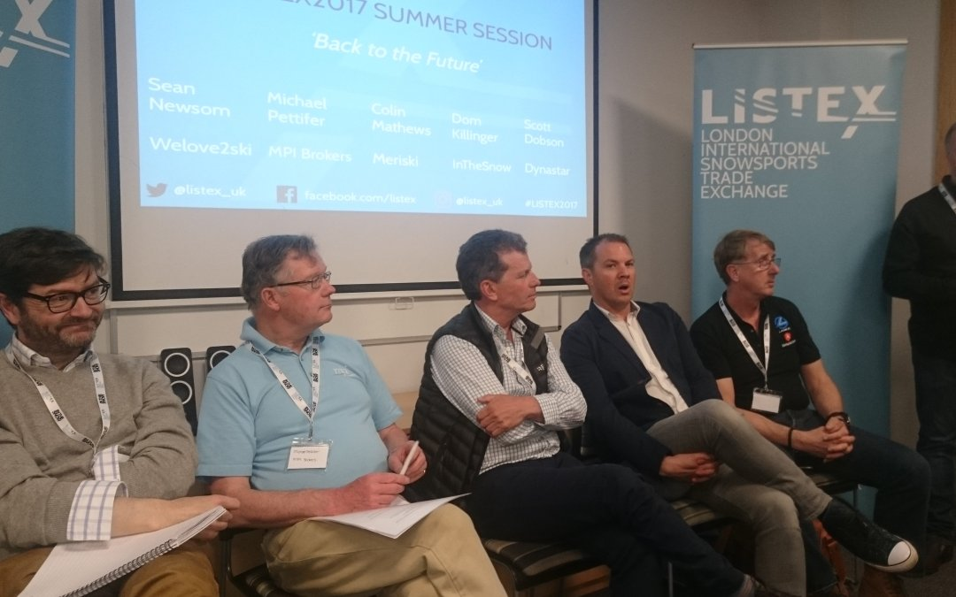 Ski Trade discuss skier trends at Listex