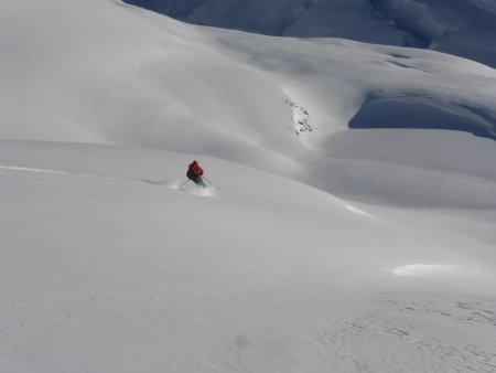 Wayne Watson off piste Val d'isere