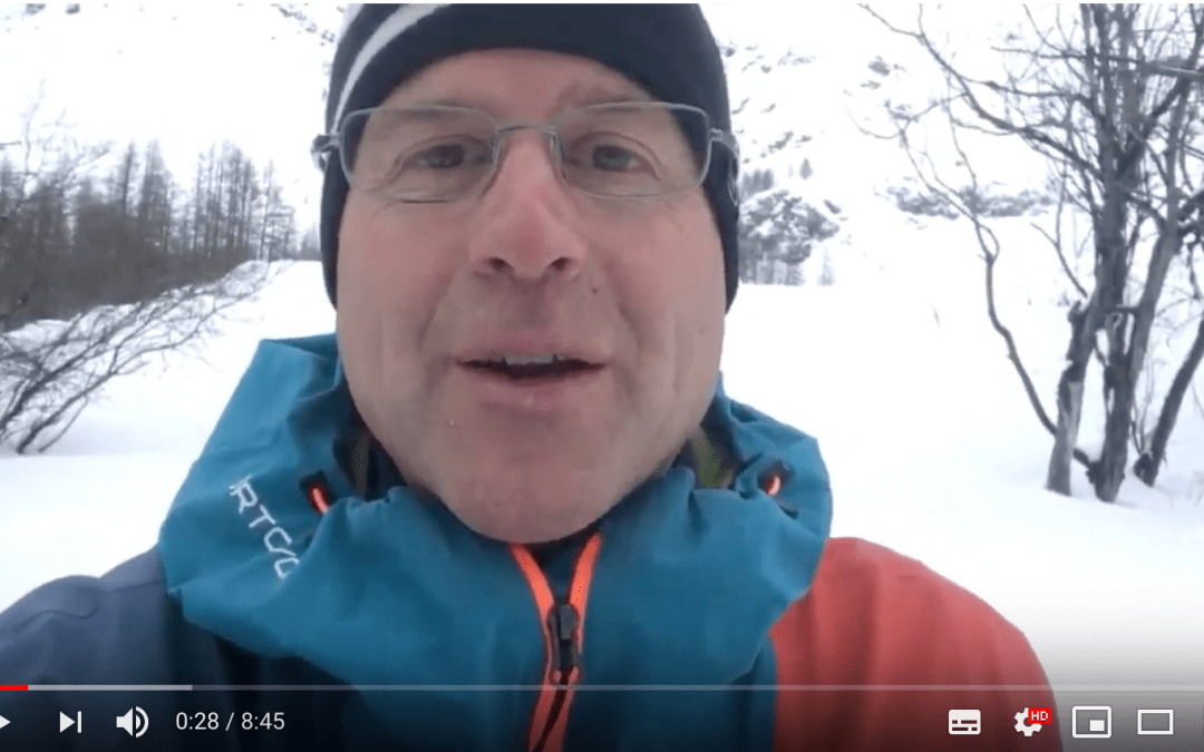Update from Henry on the unstable snowpack