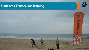 Avalanche transceiver training in the UK