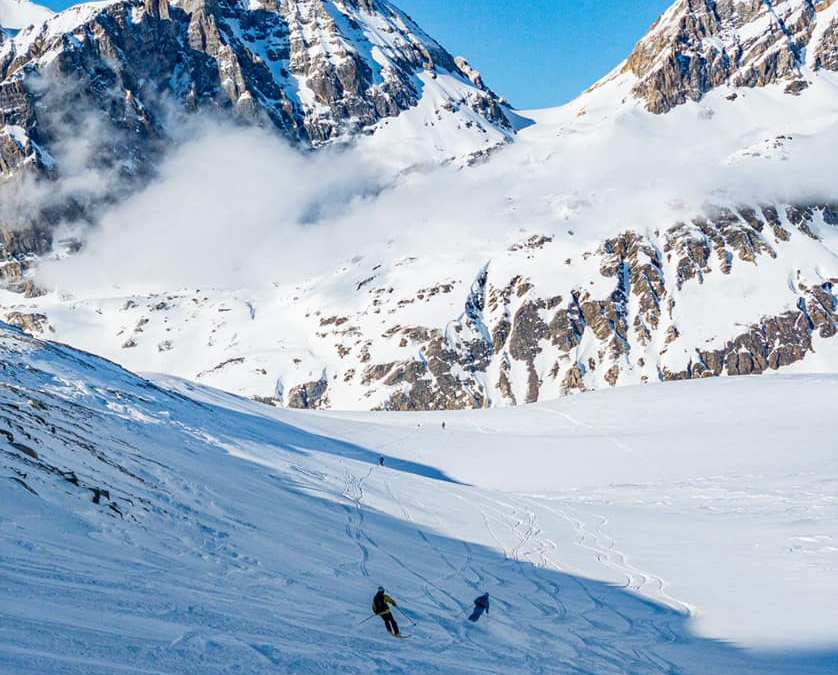 Off-piste snow report, N French Alps, 21st – 27th Feb 2020