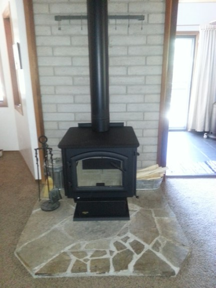 New wood stove