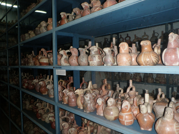 One of many pottery rooms
