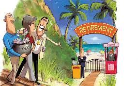 Retirment cartoon