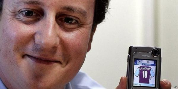 David Cameron Aston Villa